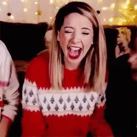 Watch Zoella Zoe Sugg GIF on Gfycat. Discover more related GIFs on Gfycat