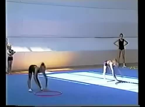 Watch and share Gymnastics GIFs and Children GIFs on Gfycat