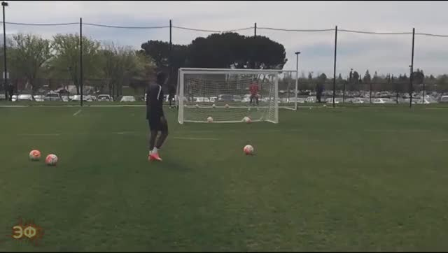 Watch and share Didier Drogba On Training GIFs by Эстетика Футбола on Gfycat