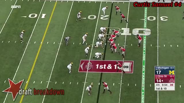 Watch and share Curtis Samuel (Ohio State RB) Vs Michigan 2016 GIFs on Gfycat