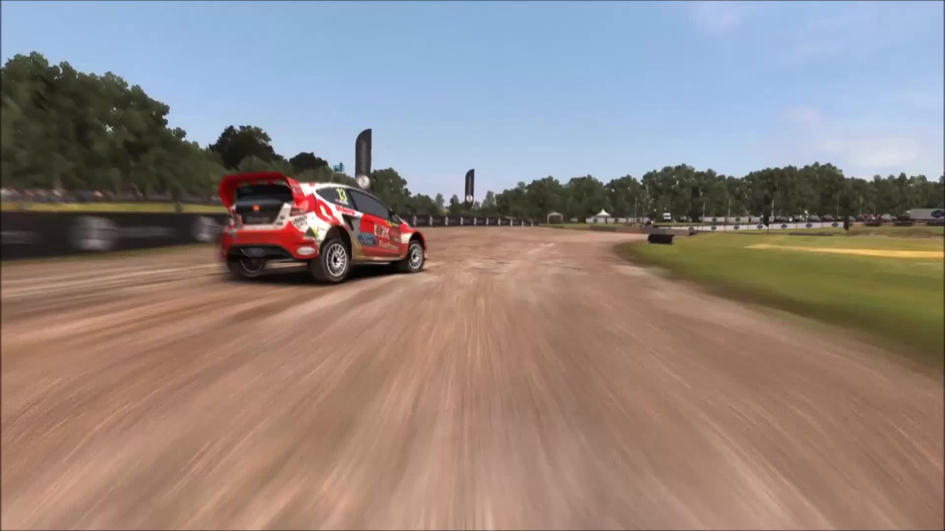 Dirt Rally, Rallycross Overtake GIFs