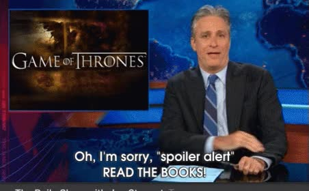 Watch this spoiler GIF on Gfycat. Discover more jon stewart, spoiler, spoiler alert, spoiler warning, spoilers GIFs on Gfycat