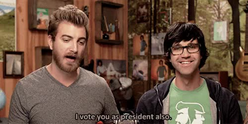 Watch kink neal GIF on Gfycat. Discover more 333, 4, gif, gmm, good mythical morning, president link, rhett and link, ~ GIFs on Gfycat