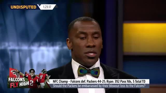 Watch Falcons win NFC Championship - Skip and Shannon react  | UNDISPUTED GIF on Gfycat. Discover more bayless, shannon sharpe, skip, skip bayless GIFs on Gfycat