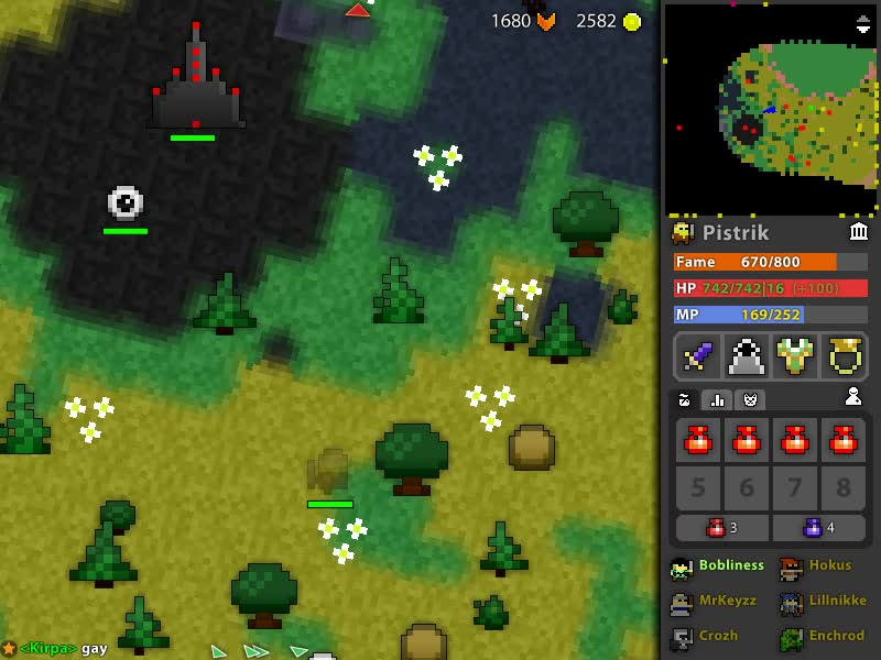 Realm of the Mad God, ROTMG Event white: Oreo GIFs