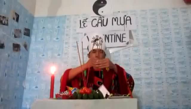 Watch and share [Funny] FA Lập Đàn Cầu Mưa Siêu Hài GIFs on Gfycat