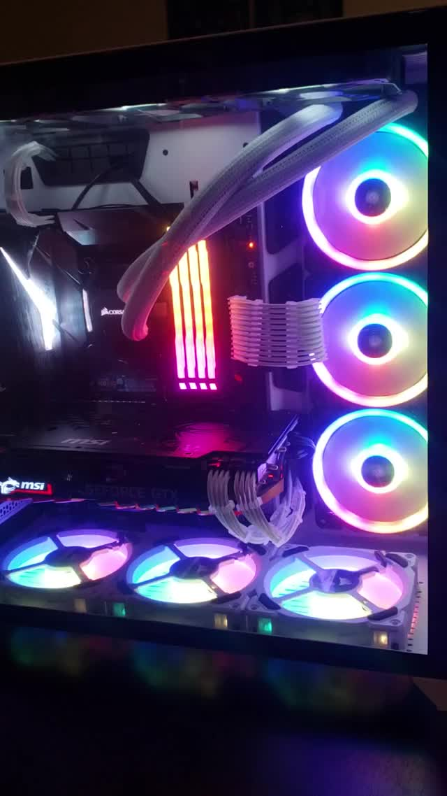Watch and share Corsair Rgb Setup GIFs by brocahontas on Gfycat