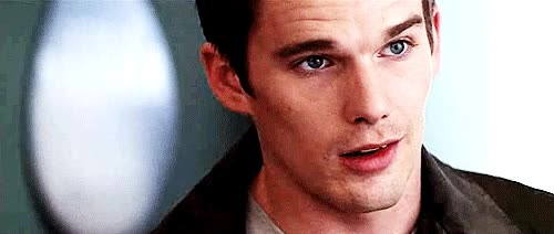 Watch and share Ethan Hawke Smile GIFs on Gfycat