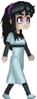 80's, Mary, Obelisk, animation, concepts, cute, cycle, game design, portrait, run, sprite, walk, This is the Mary sampler. She is cute and there are two of h GIFs