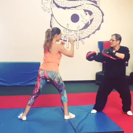 KellyBrook, kellybrook, Learning tumbling (gif) (reddit) GIFs