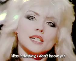 """Watch Blondie performing""""(I'm Always Touched By Your) Presence, De GIF on Gfycat. Discover more **, Blondie, Debbie Harry, Deborah Harry, GROSS GROSS GROSS, live, shit.gif GIFs on Gfycat"""