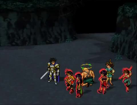 Flik, blight, defeat, luca, one, riou, suikoden, team, turn, viktor, Suikoden 2 - Defeat Luca Blight in 1 turn with all 3 parties GIFs