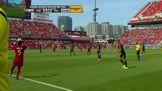 Watch and share Sebastian Giovinco Goal Vs. Philadelphia Union GIFs by rook416 on Gfycat
