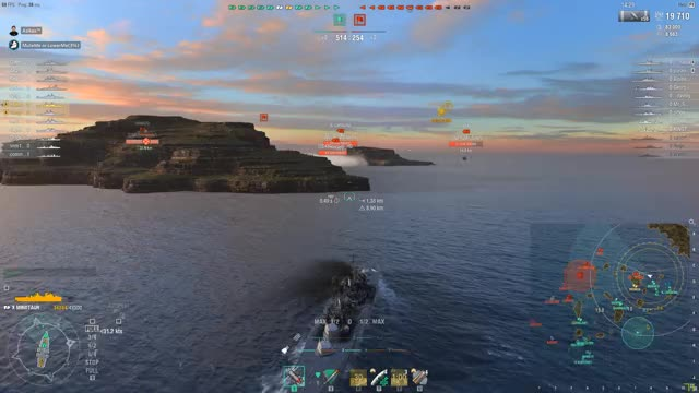 Watch and share World Of Warships 2018.07.20 - Short GIFs by Asikes on Gfycat
