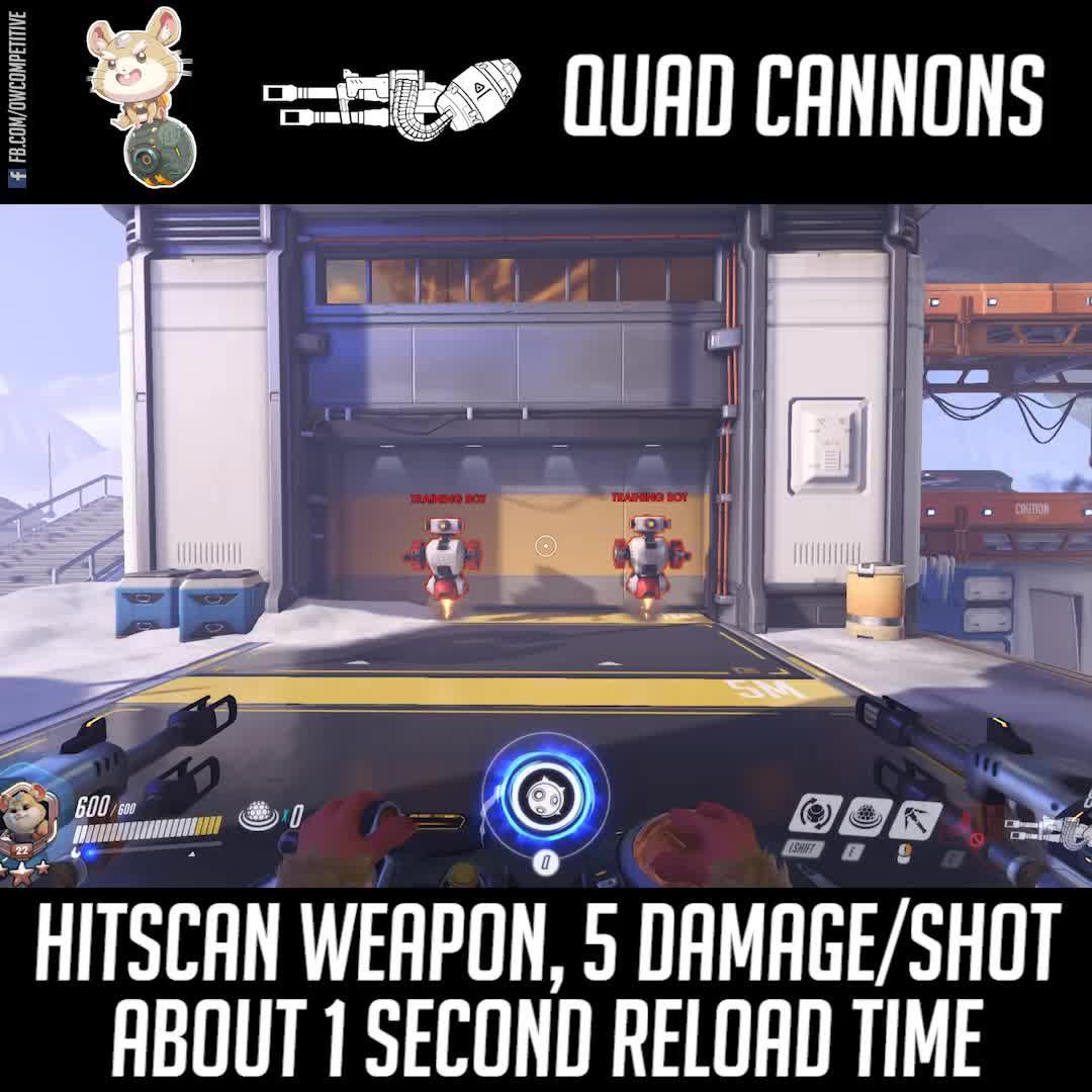 hammond, overwatch, wrecking ball, Overwatch Patch 24th July - Hammond (Wrecking Ball) GIFs