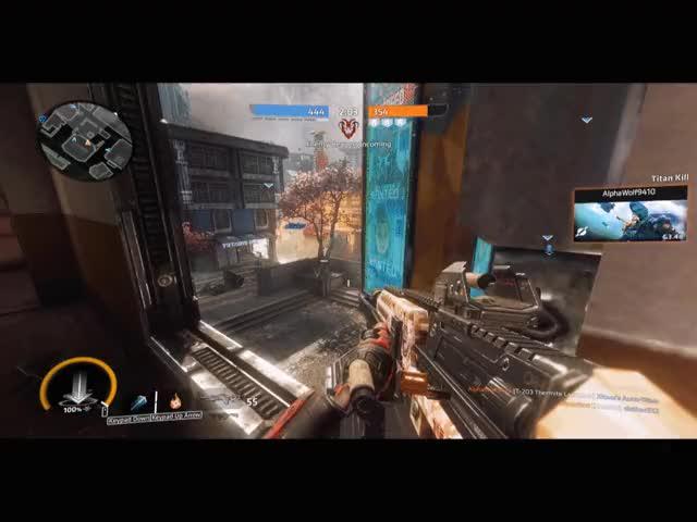 Watch and share Titanfall 2 - Scorpion Kick GIFs by evildog77 on Gfycat