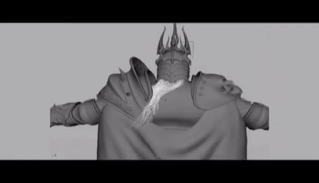 Watch and share WOTLK - Behind The Scenes - Cinematic // Part 1 GIFs on Gfycat