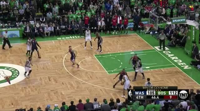Watch and share Marcus Smart Waves Off Isaiah Thomas GIFs by @KevinOConnorNBA on Gfycat
