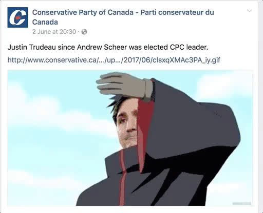 FellowKids, Conservative party of Canada's dank Naruto memes (reddit) GIFs