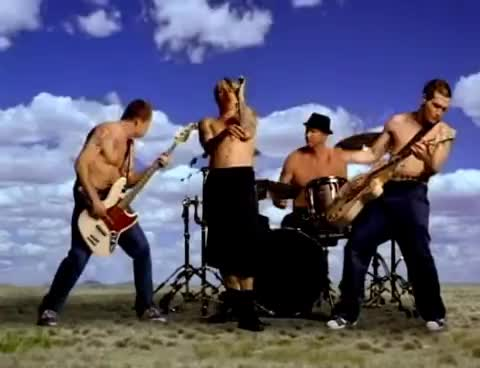 Red Hot Chili Peppers - Californication [Official Music Video] GIFs
