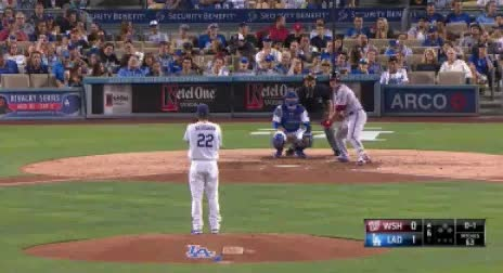 Watch and share Clayton Kershaw Second Changeup To Wilson Ramos GIFs by jsulliv6 on Gfycat