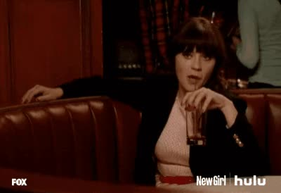 Watch flirting GIF on Gfycat. Discover more flirting, zooey deschanel GIFs on Gfycat