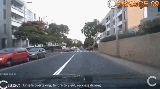 dashcamgifs, Watch this asshole try to pass (reddit) GIFs
