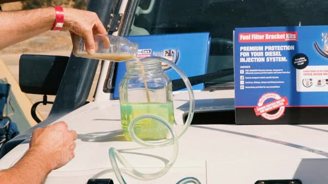Watch Dirty fuel - Diesel Care fuel filter kit testing GIF by @katabaticid on Gfycat. Discover more ,contamination, 4wd, Diesel Care, contaminated fuel, diesel, dirty fuel, dirty water, fuel filter kits GIFs on Gfycat