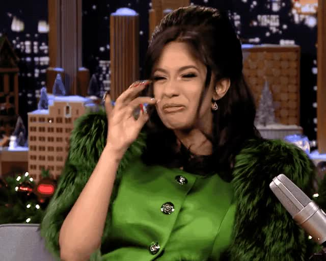 Watch this trending GIF by GIF Queen (@ioanna) on Gfycat. Discover more b, bad, blah, cardi, cardi b, disgust, disgusting, eww, ewww, fallon, funny, gross, jimmy, nose, show, smell, tonight, yikes, yuck GIFs on Gfycat