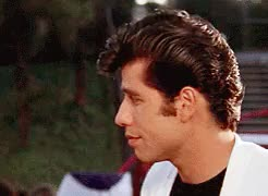 Watch i'm not here! GIF on Gfycat. Discover more Grease, John Travolta, Olivia Newton John, gif: Grease, soulforsky gif GIFs on Gfycat