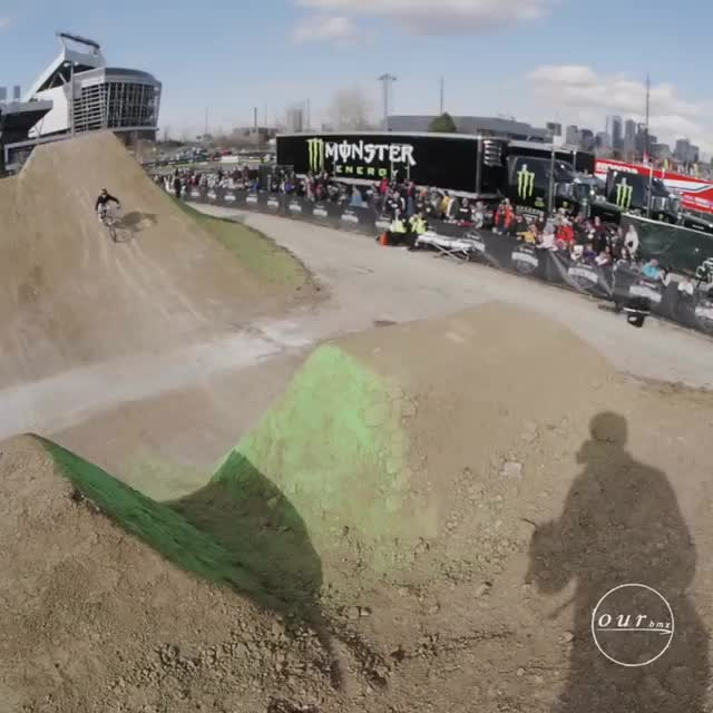 Watch and share Wild Weekend Of BMX Here In Denver. The @toyotabmxtriplechallenge Never Disa... GIFs on Gfycat