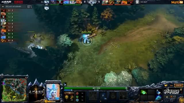 Secret vs EG - (Dota 2 Asia Championships) - GoDz & Blitz