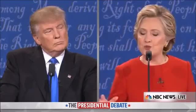 Watch and share Presidential Debate GIFs on Gfycat