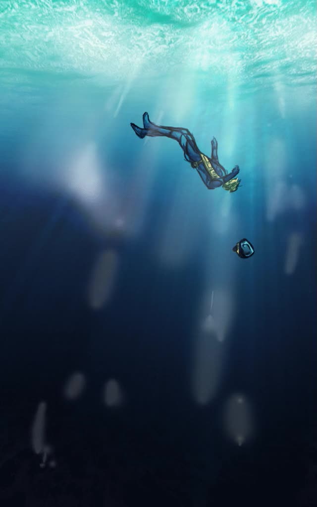 Watch and share Gordon Drowning [GIF] By LenleG GIFs on Gfycat