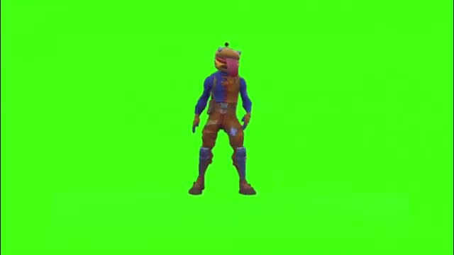 """Watch and share New """"Beef Boss"""" Skin Green Screened In Fortnite!!! (Orange Justice, Slow Clap, And More!!!) GIFs on Gfycat"""