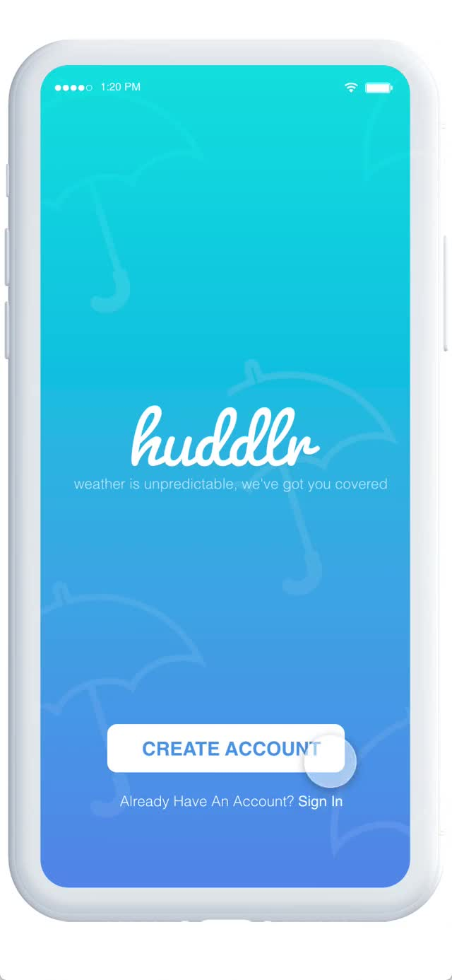 Watch and share Huddlr Prototype (3) GIFs on Gfycat