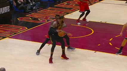 Watch LeBron James — Cleveland Cavaliers GIF by Off-Hand (@off-hand) on Gfycat. Discover more 050718 GIFs on Gfycat