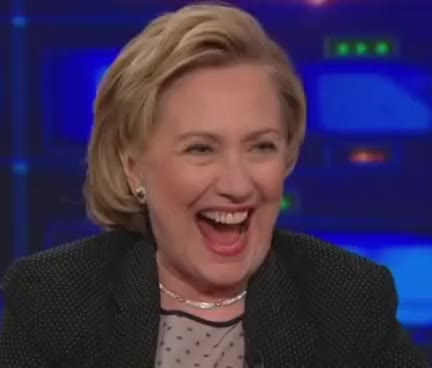 Watch and share Hillary Clinton Laugh GIFs on Gfycat