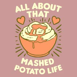 Watch and share Mashed Potatoes GIFs and Look Human GIFs by Reactions on Gfycat