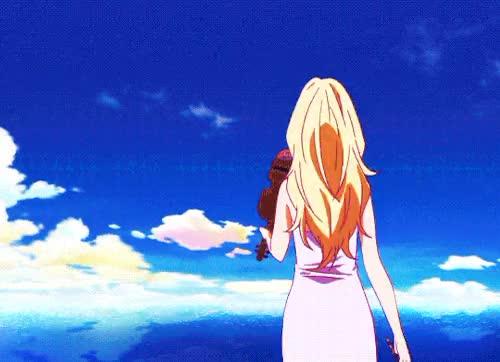 Watch this GIF on Gfycat. Discover more kimiuso, miyazono kaori, shigatsu wa kimi no uso GIFs on Gfycat