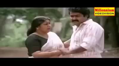 Kireedam Malayalam Movie Mohanlal Sad Whatsapp Status GIF