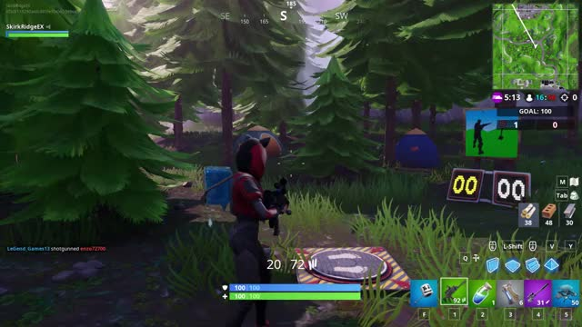 Fortnite Shooting Gallery Map Locations Wailing Woods Retail Row