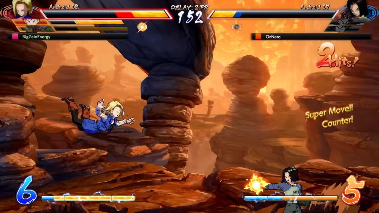 dbfz, dragon ball fighterz, A17's walljump is weird GIFs