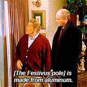festivus, festivus for the rest of us, frank costanza, happy festivus, holiday, seinfeld, Festivus Pole GIFs