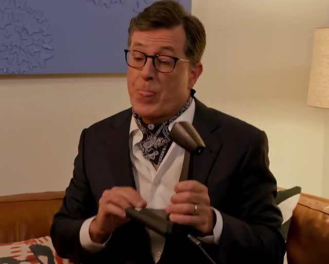 Watch and share Stephen Colbert GIFs and Microphone GIFs by GIF Generator on Gfycat