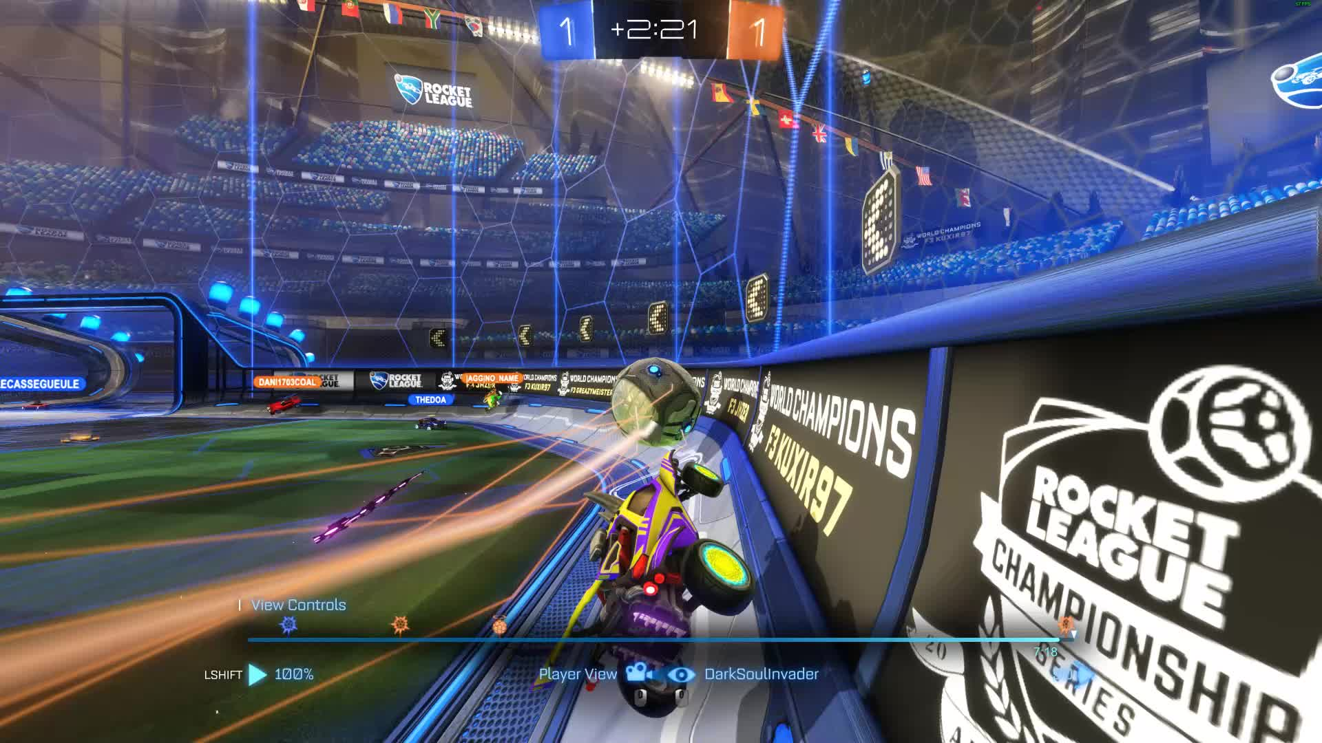4kultrahd, NA>EU, Rocket League, When You Know Every Move the Other Team is Going to Make GIFs