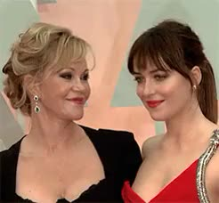 Watch this dakota johnson GIF on Gfycat. Discover more 87th annual academy awards, by littleloveofxvii, dakota johnson, djedits, djohnsondaily, events, events 2015, melanie griffith, oscars 2015 GIFs on Gfycat