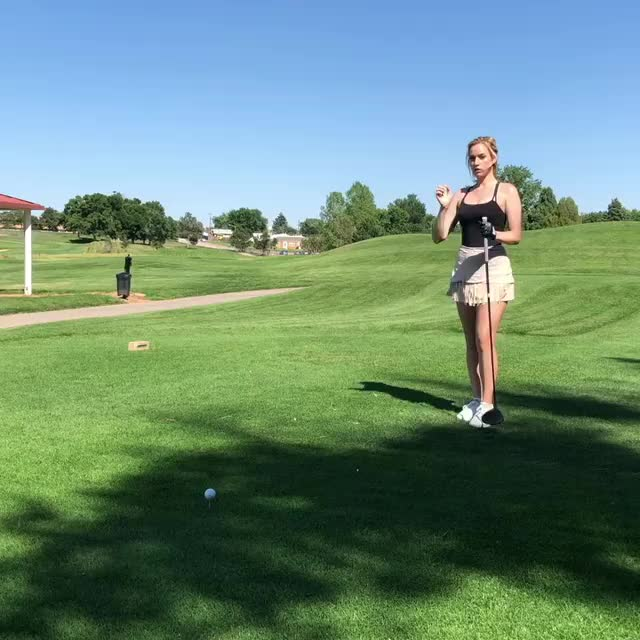 Watch and share Paige Spiranac GIFs and Cleavage GIFs on Gfycat