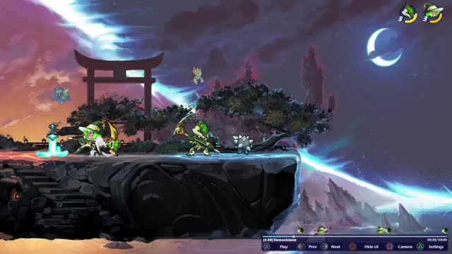 Watch and share Brawlhalla (2) GIFs by hanzoshimada3 on Gfycat