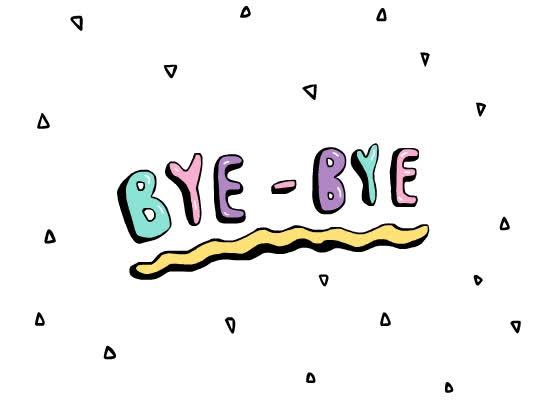 bye, bye bye, farewell, goodbye, jasnim, see ya, Bye - Bye GIFs